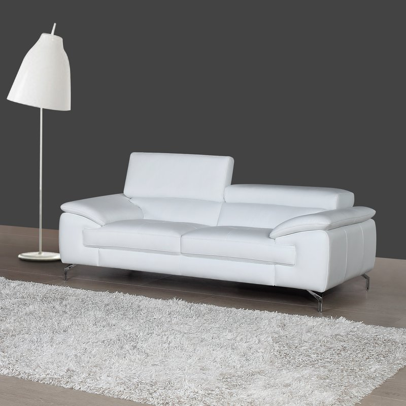 gideon italian leather sofa GXOXCKH
