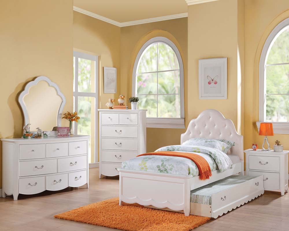 girl bedroom sets full size of bedroom:appealing girlu0027s white bedroom set cecilie in acme  furniture QJOAHJL