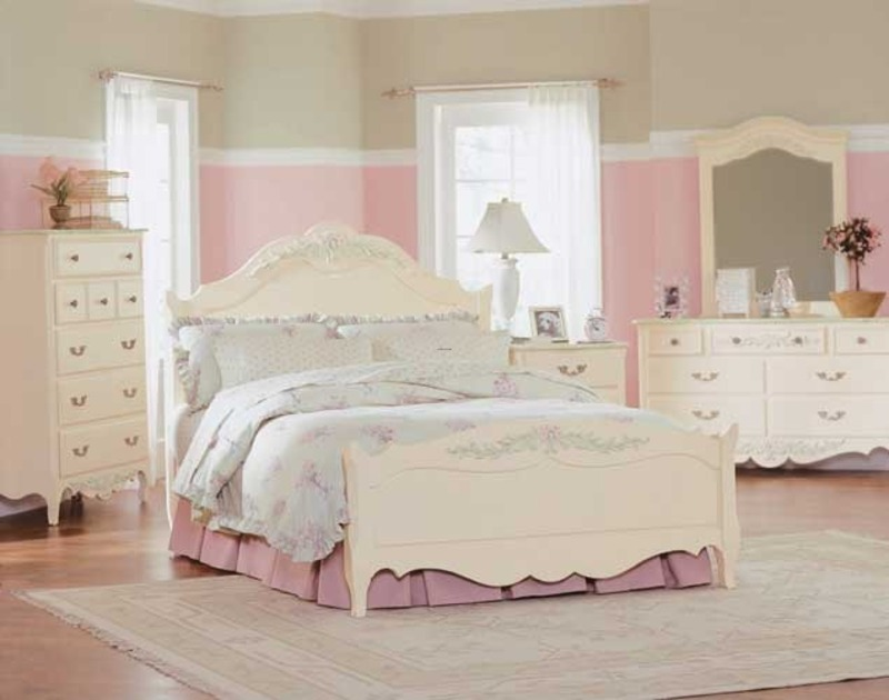 Contemporary Toddler Girl Bedroom Sets Design Ideas
