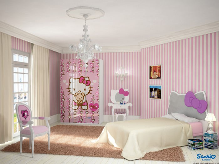 Try out the new girls bedroom decor