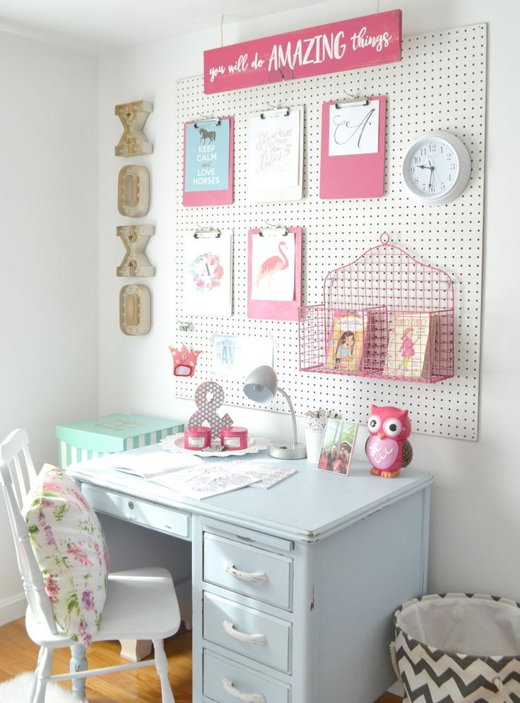 girls bedroom decor fantastic ideas for organizing kidu0027s bedrooms. girls room wall decorkids ... DKVGRZJ