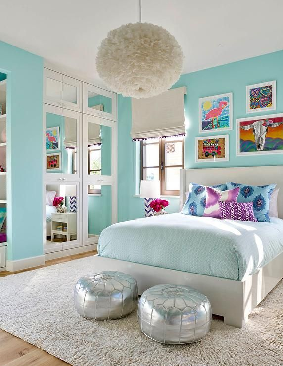girls bedrooms 15 best images about turquoise room decorations. teenage girl bedroom ... SFBLWFG