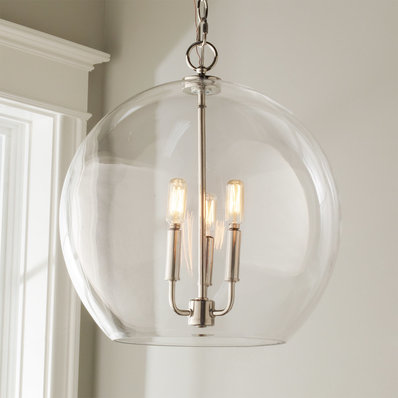 glass chandelier clear glass sphere chandelier GUTWVRN