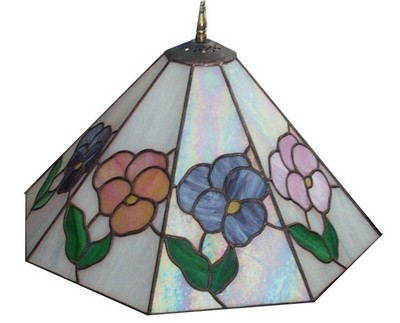 glass lamp shades make a beautiful stained glass lampshade SIWTUXK