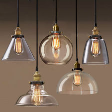 Why should you go for glass lamp shades goodworksfurniture glass lamp shades new modern vintage industrial retro loft glass ceiling lamp shade pendant light pbwvzvr mozeypictures Choice Image