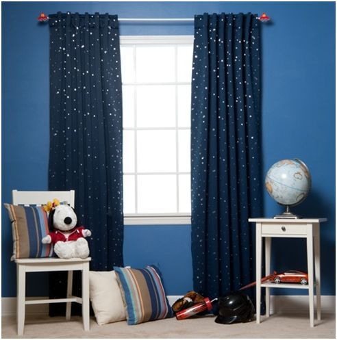 Types of boy curtains to be hung - goodworksfurniture