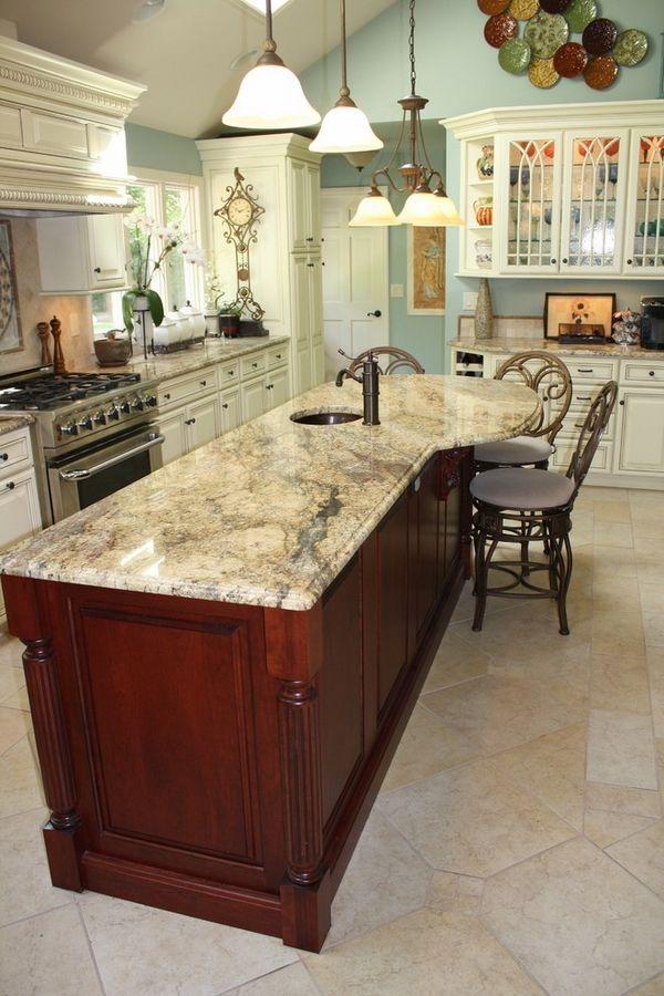 Granite Kitchen Countertops Ideas Part - 19: Granite Kitchen Countertops Best 25+ Kitchen Granite Countertops Ideas On  Pinterest | White Countertop Kitchen