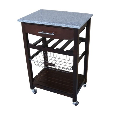 granite top kitchen cart LFEMAGE