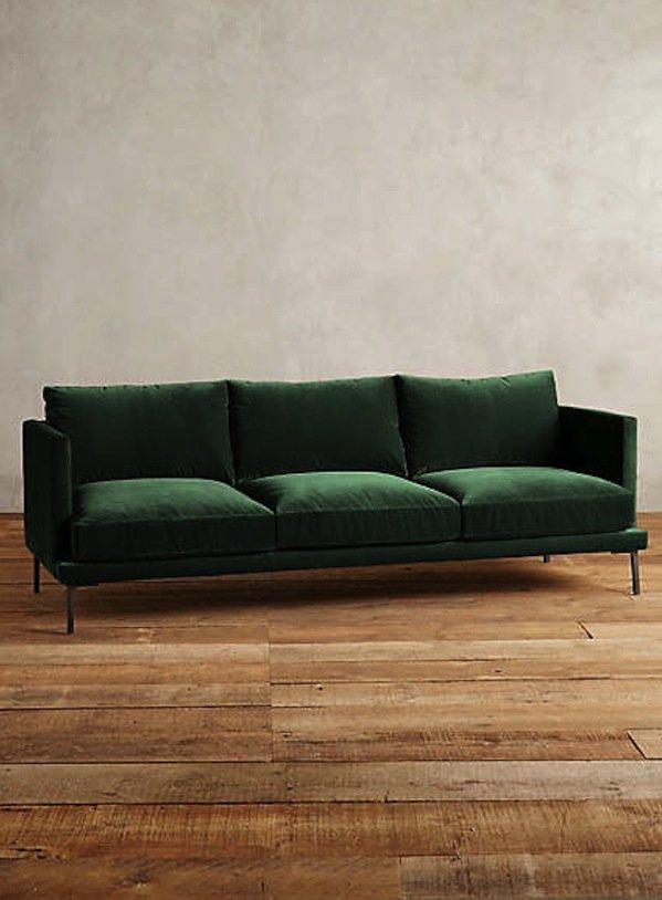 green sofa green velvet sofas URNCYDL