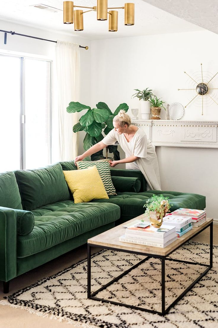 green sofa sofa style prediction: this is the new navy (u0026 youu0027re going to love HRKWZAO