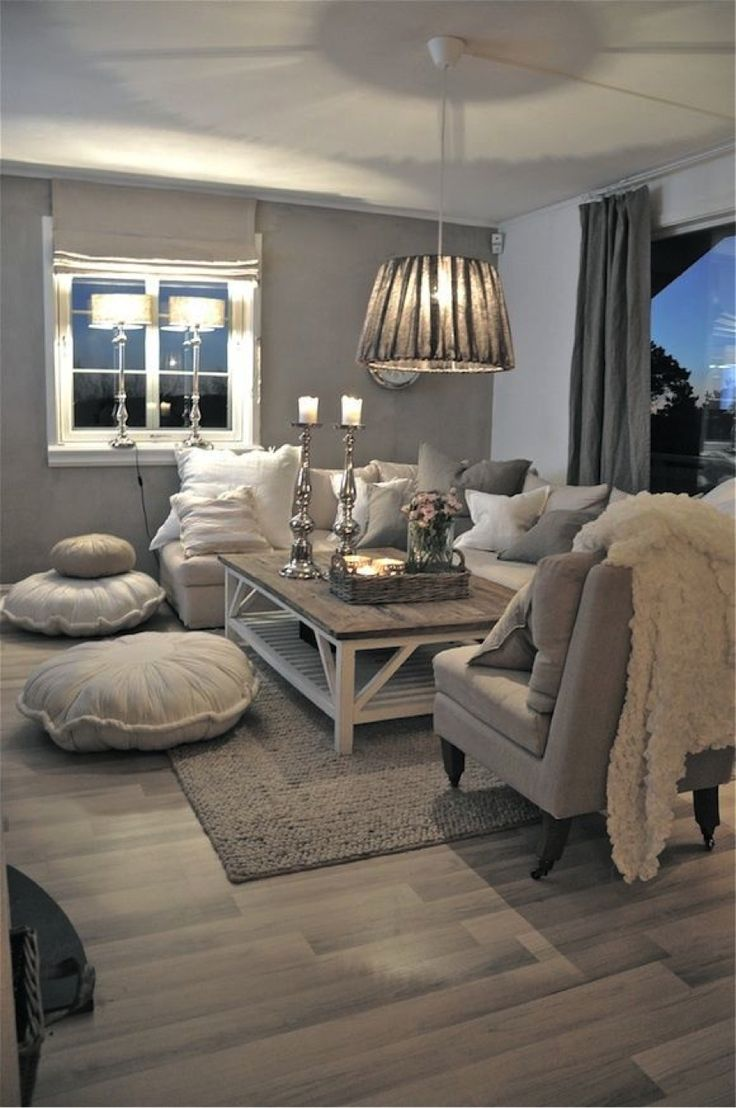 Grey Living Room 27 breathtaking rustic chic living rooms that you must see. grey carpet living IIBQARG