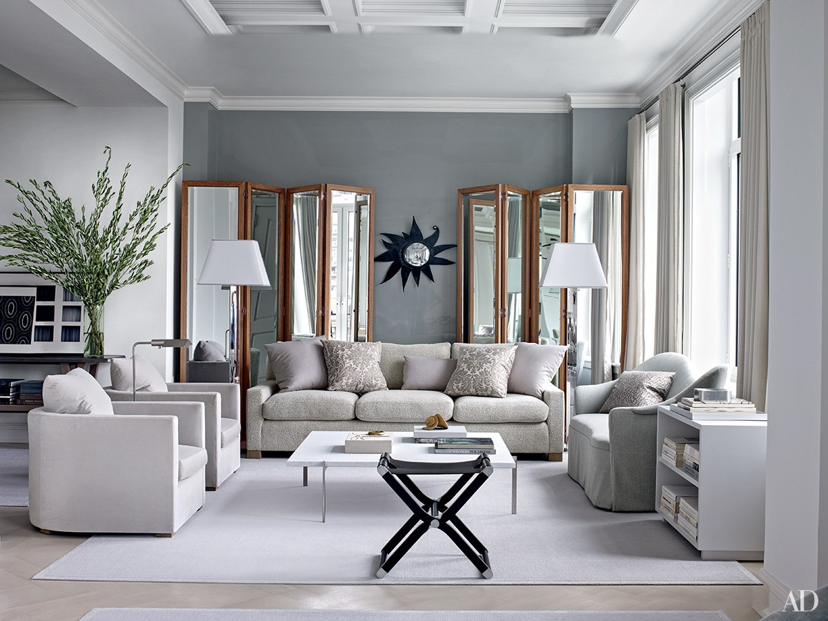 Grey Living Room inspiring gray living room ideas photos | architectural digest BYJSRCI