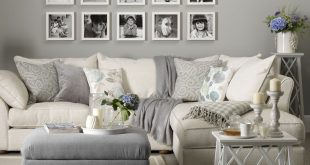 Grey Living Room mix grey with warmer neutrals DFBSDJH