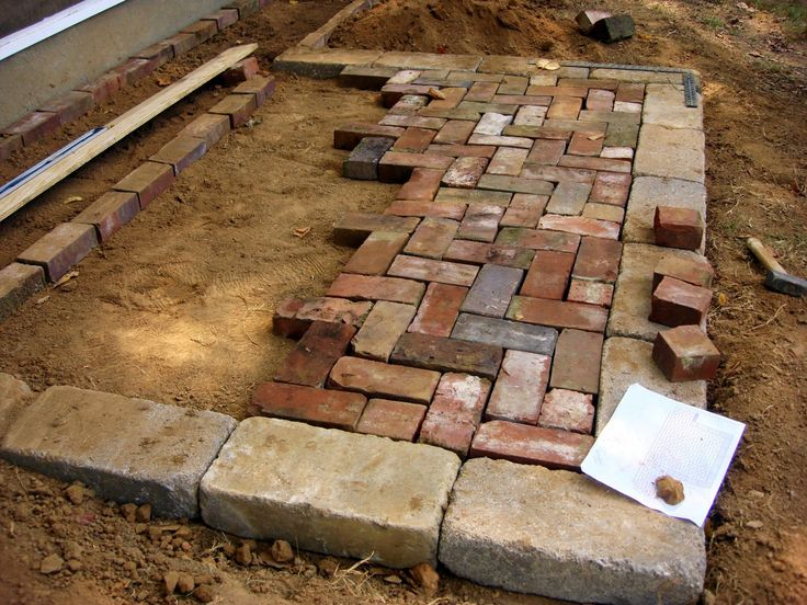 herringbone brick patio - google search DMWFDDU