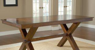 hillsdale park avenue counter height trestle table BWFDEZA