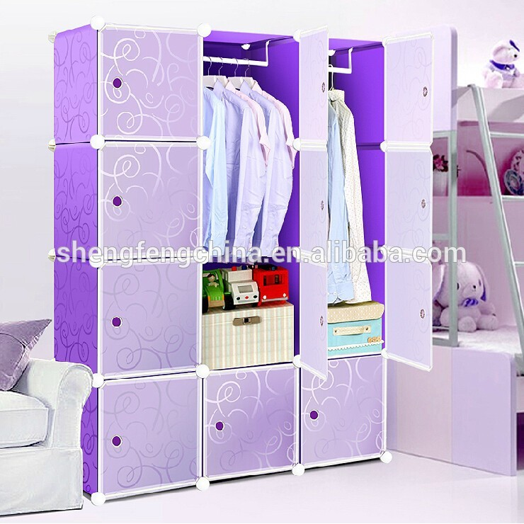 home decoration shelf plastic portable wardrobe - buy plastic portable  wardrobe,plastic foldable GQTXUFN