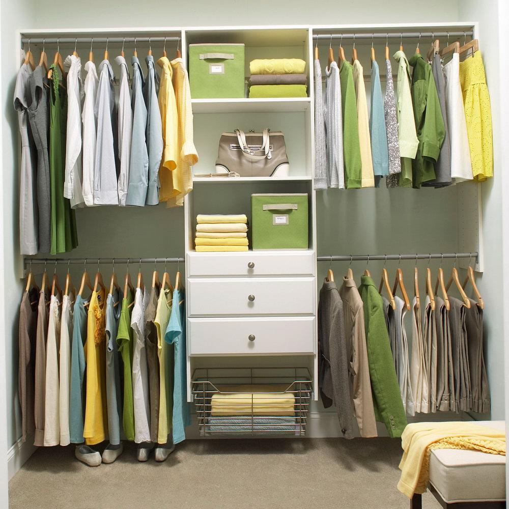 home depot closet organizer drawers ZAGDKKO