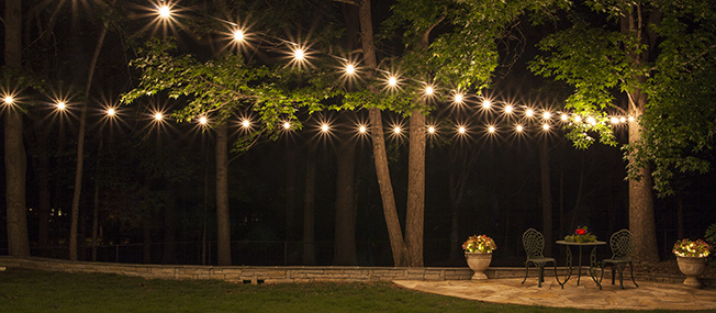 how to plan and hang patio lights MUUCOBN