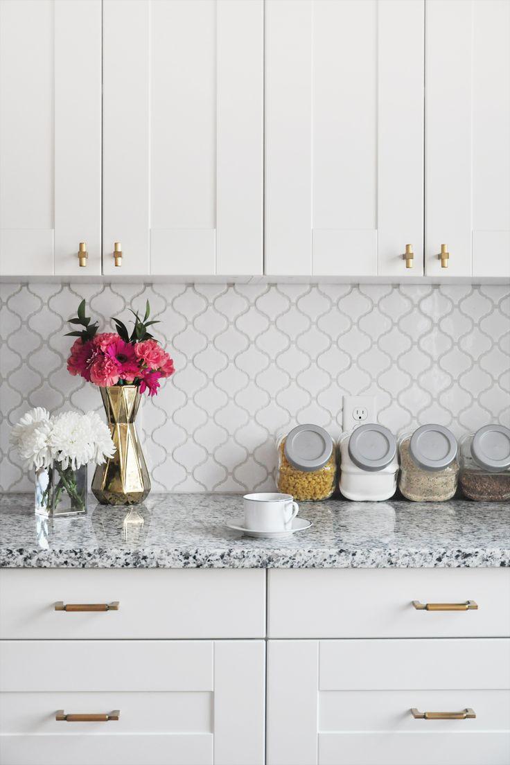 how to tile a kitchen backsplash: diy tutorial HTAYQCA