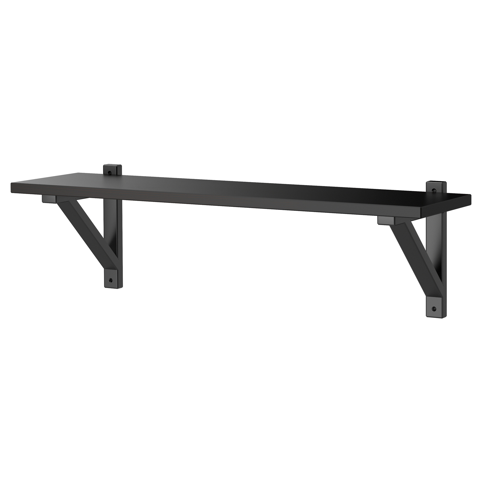 ikea ekby valter/ekby hemnes wall shelf solid wood is a durable natural JPVUJJR