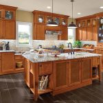 Matching Maple Kitchen Cabinets with Your Kitchen Setting