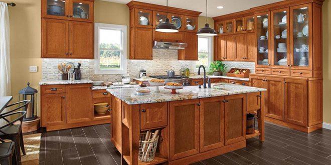 Image Of: Kraftmaid Maple Kitchen Cabinets GRSMKVH