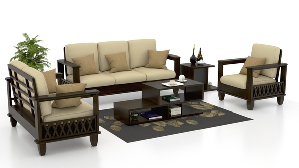Interesting Wooden Sofa With Best Wooden Sofa Set Designs  Goodworksfurniture GAKOTBI