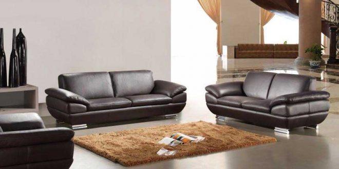 italian leather sofa set in espresso finish GSQJVDQ