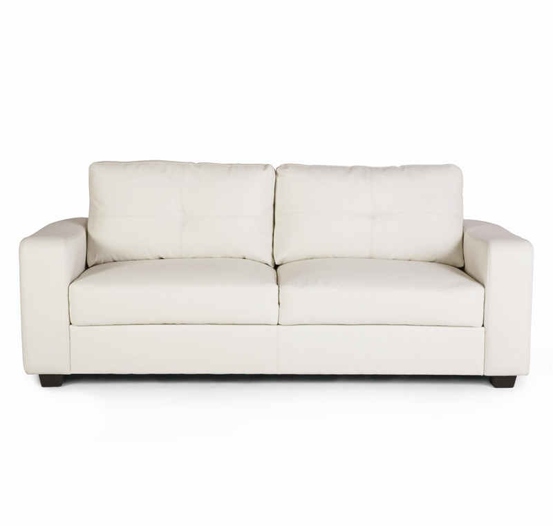 jasmine vibrant white leather sofa by coaster - 502711 SFFJQXJ
