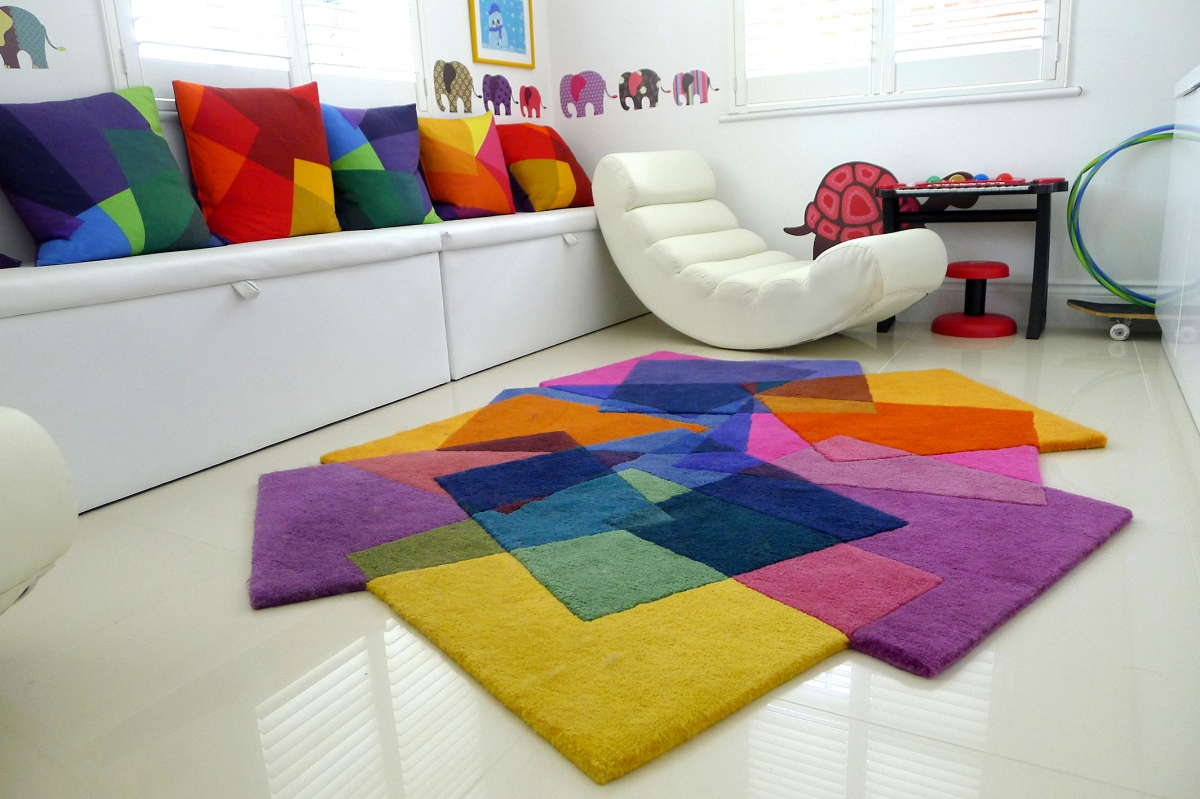 Ways for selecting kids area rugs