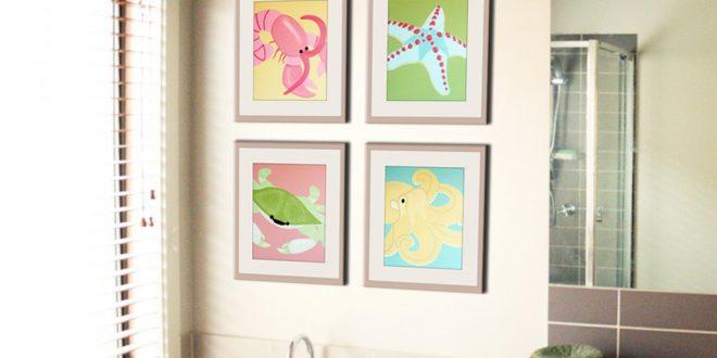 kids bathroom ideas bathroom art for kids EAGOFTJ