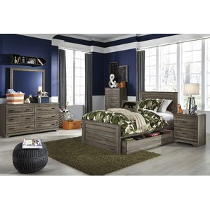 kids bedroom furniture set aleah storage trundle panel configurable bedroom set UPAYBCR