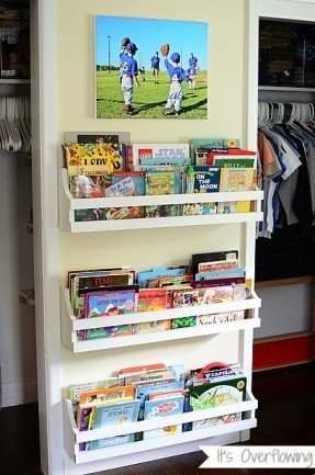 kids bookshelf ... we decided to create our own diy wall mount bookshelf ... OJMCDIW
