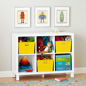 kids bookshelves cubic wide bookcase (6-cube) JDSWPUP