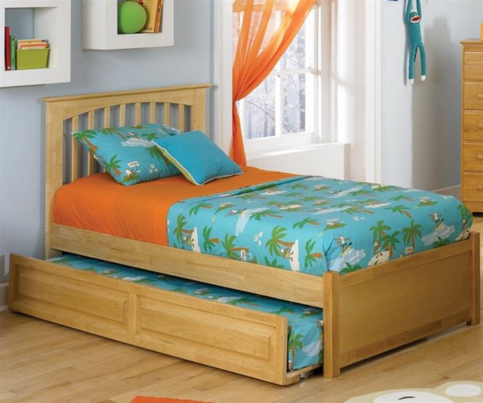 kids trundle beds atlantic furniture natural maple brooklyn trundle bed kids bedroom  furniture trundle beds URTLDVF