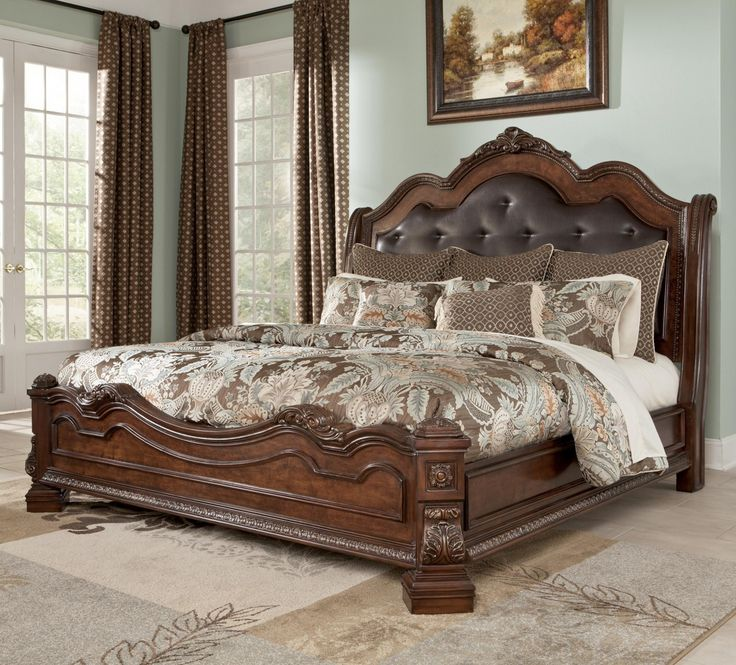 king size bed frame with headboard - http://www.atentevent.net PCEUVYM