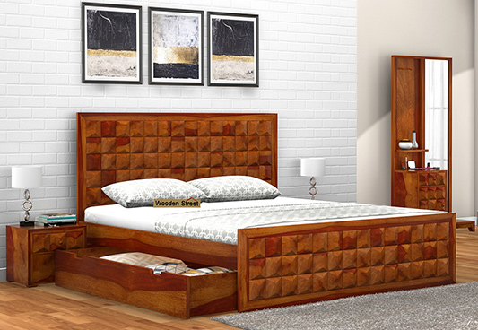 king size bed king size beds with storage HUMAMZR