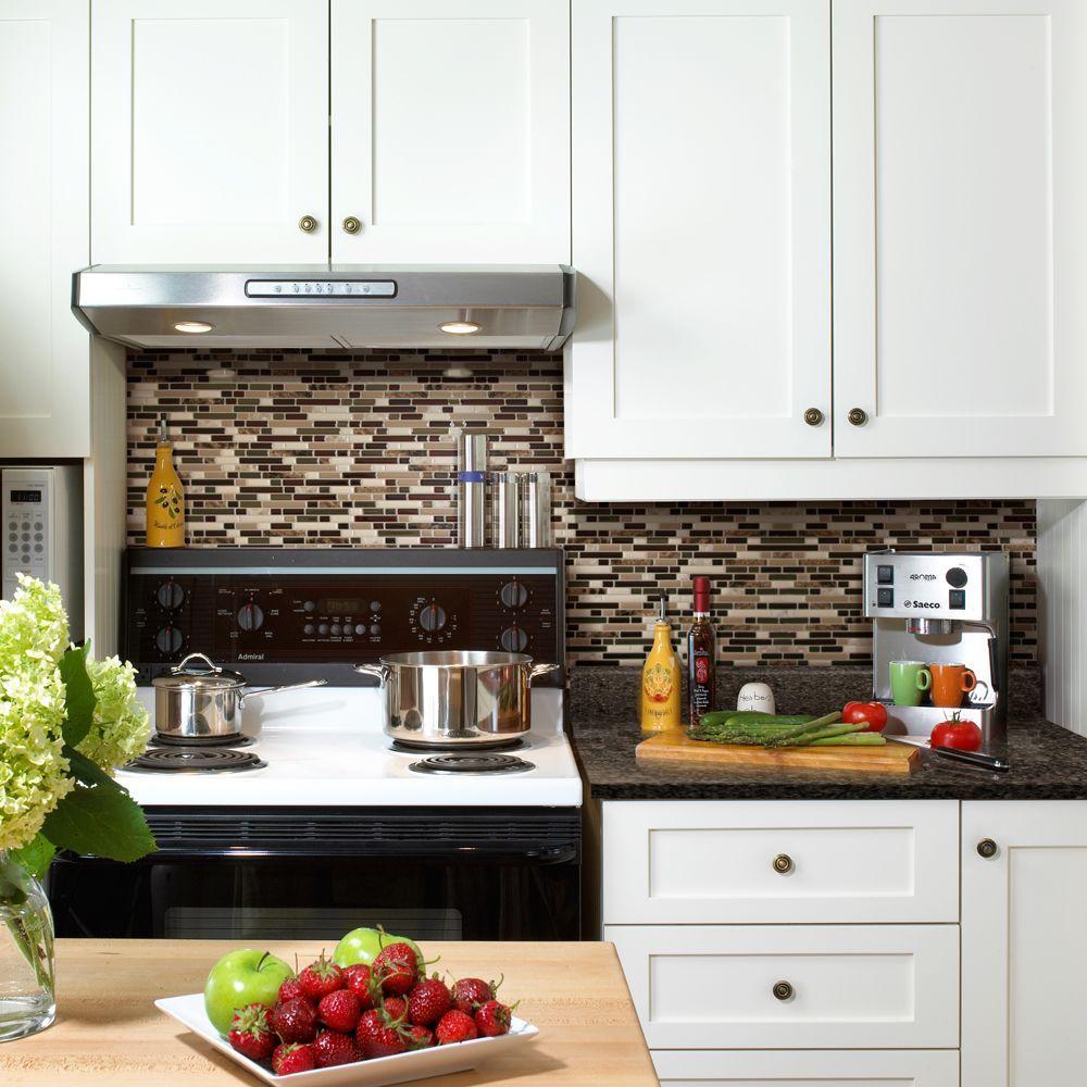 kitchen backsplash bellagio keystone 10.06 in. w x 10 in. h peel and stick self- ZRRAPFT