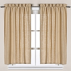 kitchen curtain image of soho linen bath window curtain tier pair VKQDACL