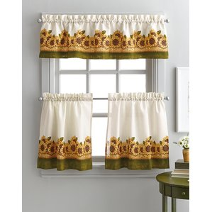kitchen curtain kitchen curtains youu0027ll love | wayfair XWHQROC