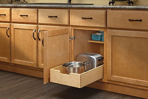 kitchen drawers rev-a-shelf - 4wdb-15 - medium wood base cabinet pull-out drawer AONIGCK
