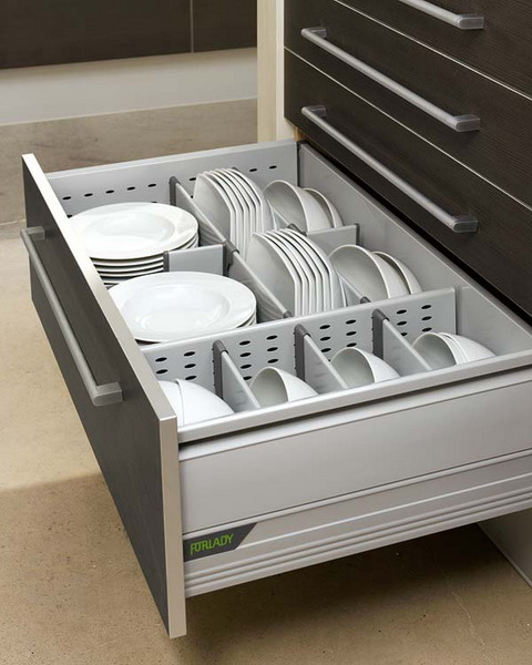 kitchen drawers simple dishes organizer works really well. OPSOXTK