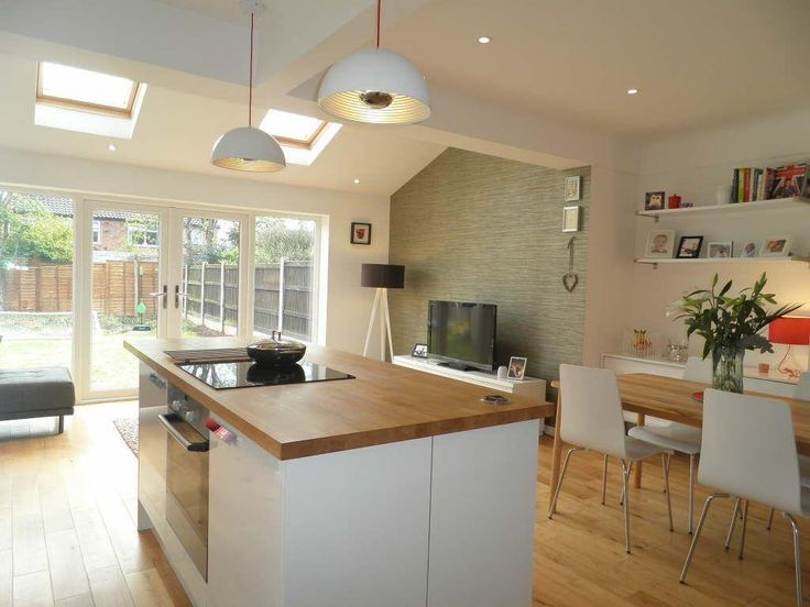 kitchen extensions 3 bedroom semi-detached house for sale in orchard close, upton, chester - VAIRLIG