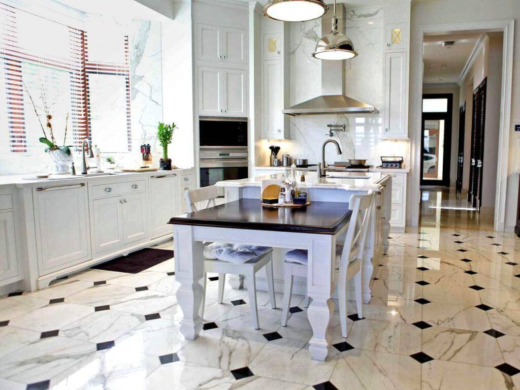 kitchen floor tile 8 tips to choose the right floor tile for every room IYYGEBM