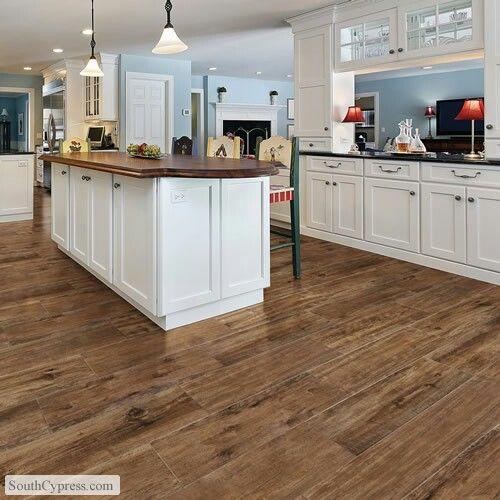 kitchen floor tile ... super cool option instead of putting wood on a kitchen floor kitchen TWKIYDQ