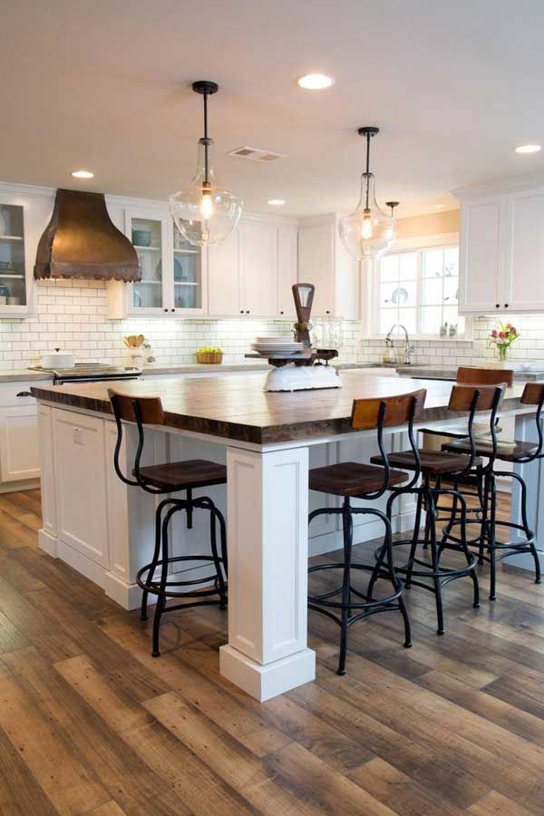 kitchen island design 19 must-see practical kitchen island designs with seating CJJKNCM