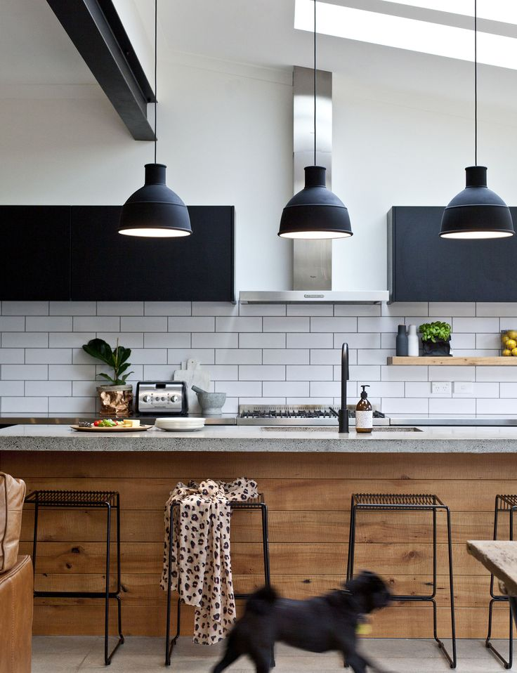 kitchen pendant lights old meets new in this beautiful dunedin villa renovation - homes to love. HPGHOVU