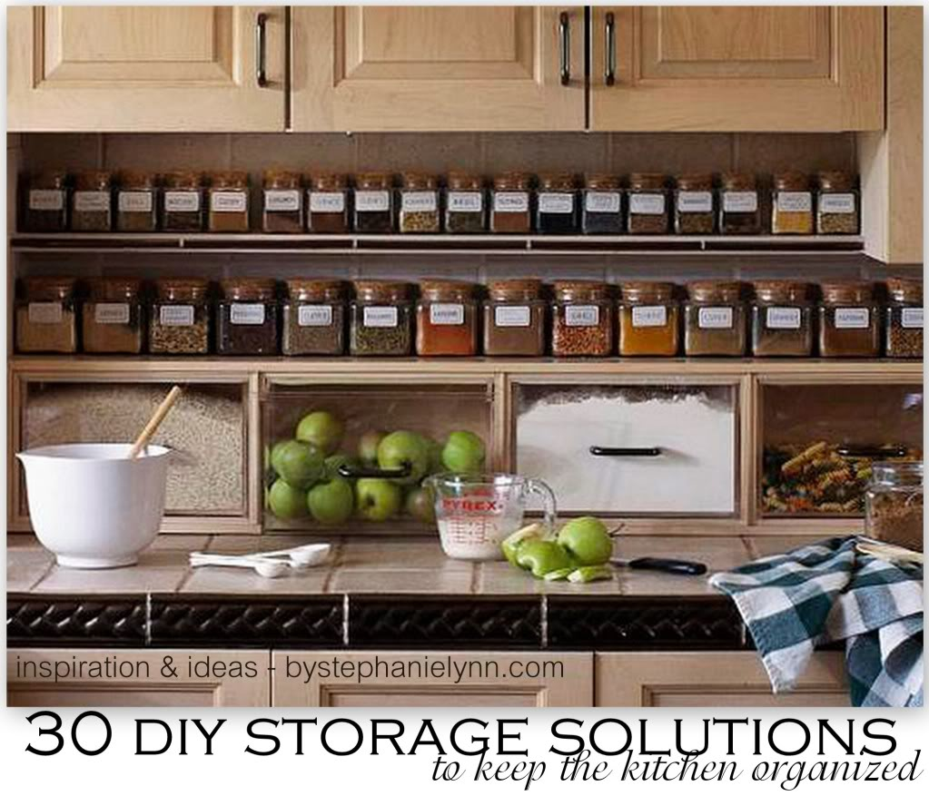 kitchen storage solutions 30 diy storage solutions to keep the kitchen organized saturday inspiration  amp XPKVKBH
