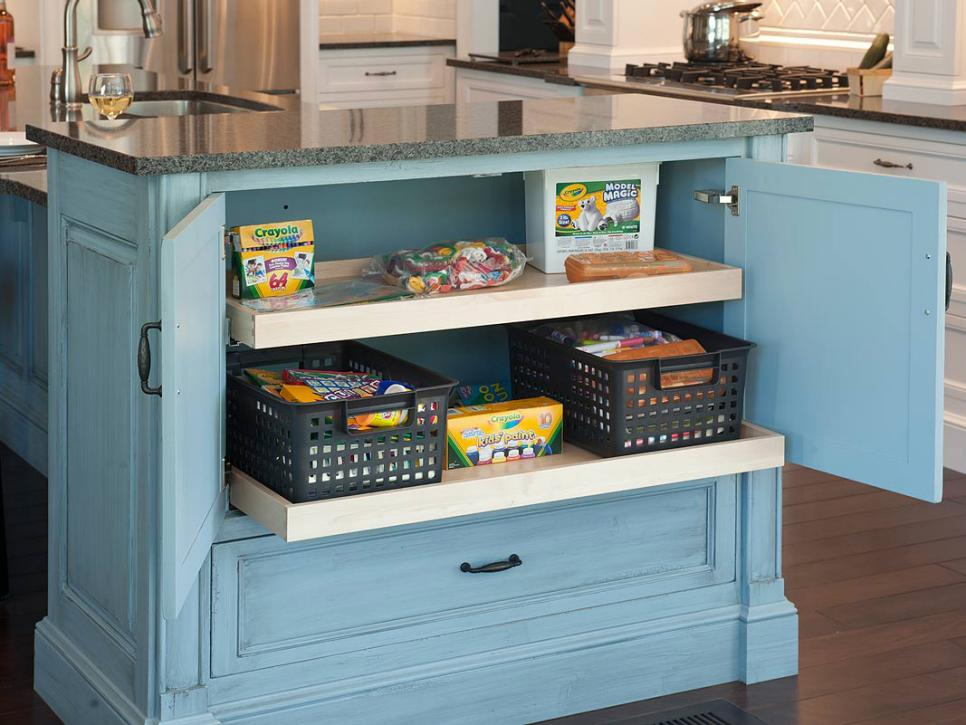 kitchen storage solutions kitchen storage ideas | hgtv DBGGFCR