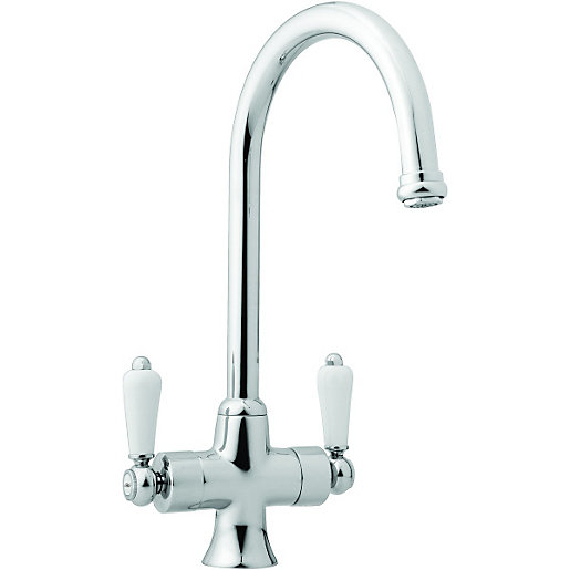 kitchen taps wickes toba mono mixer kitchen sink tap chrome LQBHGBP